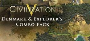 Sid Meiers Civilisation V : Denmark and Explorers Combo Pack фото