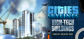 Cities: Skylines - Content Creator Pack: High-Tech Buildings фото