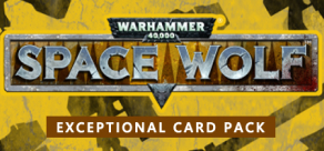 Warhammer 40,000: Space Wolf - Exceptional Card Pack фото