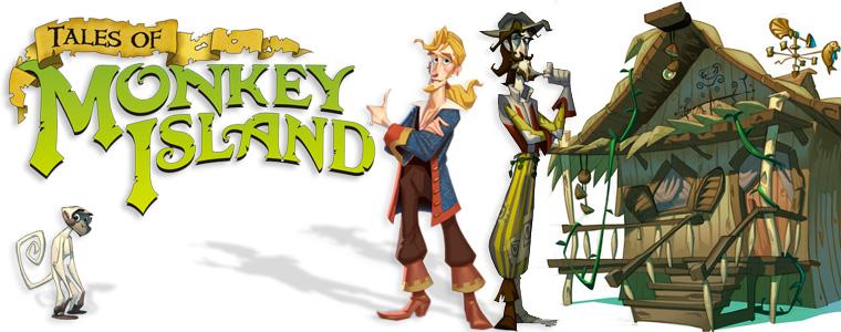 Tales of Monkey Island. Глава 1. Отплытие «Ревущего нарвала» фото
