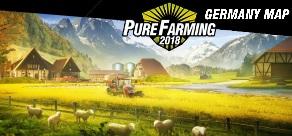 Pure Farming 2018. Pure Farming - Germany Map фото