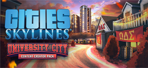 Cities: Skylines - Content Creator Pack: University City фото