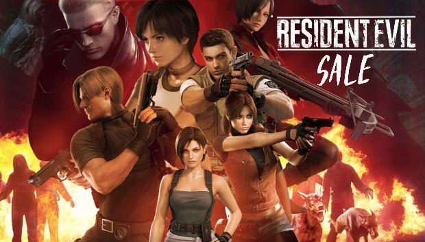 Распродажа серии Resident Evil с 20 по 26 Марта!