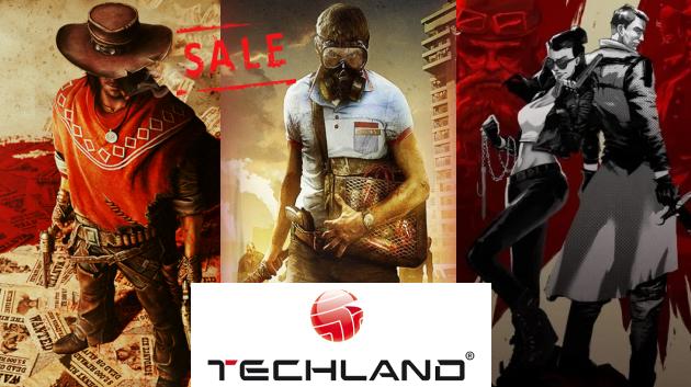 Предновогодняя распродажа от Techland!