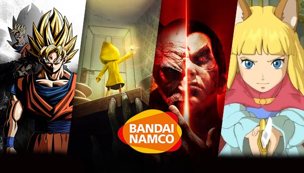 Распродажа издателя Bandai Namco c 8 по 15 Февраля!