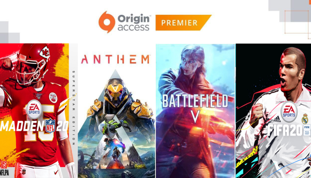 EA Origin Access Premier 1m PoR 1000 RUB RU