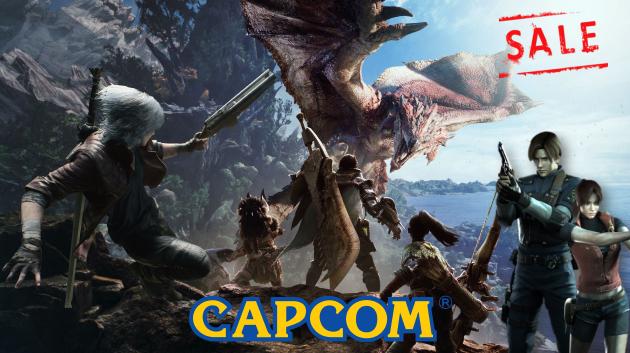 Предновогодняя распродажа от Capcom!